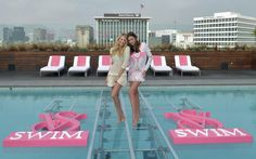 Miranda Kerr and Candice Swanepoel Launch the 2012 VS Swim Collection