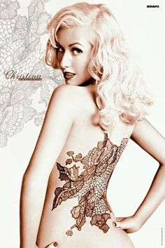 Christina Aguilera - She's another favorite singer of mine. Her Dirrty X-Tina phase remains one of my favorite transformations ever.
