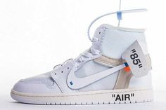 JORDAN 1 RETRO HIGH OFF-WHITE WHITE #bsokicks #sneakers #kicks #airjordan1 #offwhite #sneakershouts #sneakersaddict