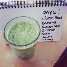 One of our favourite wellbeing challenges: 21 Days of green smoothies featuring recipes!