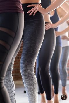 We're obsessed! Every day, every way—the lululemon high-rise Wunder Under.