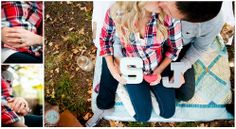 Engagement Photography; Meagan and Nate Photography; Fall Engagement Photography; Camping Engagement Photography; Monogram