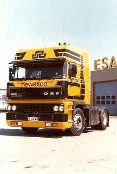 DAF 3600 by Newexco from Winschoten.