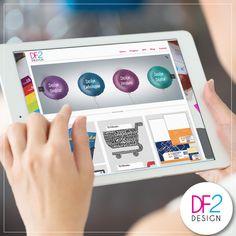 [NOVIDADE] Estamos de cara nova! Convidamos você a conhecer o nosso trabalho. Além do site, estamos com projetos selecionados para te mostrar o que sabemos fazer de melhor: Design! Ficou curioso? Que tal conferir? #designdigital #webdesign #df2 #design
