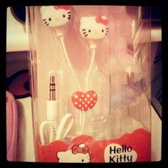 Hello Kitty Earphones