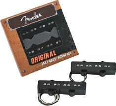 Fender Accessories 099-2123-000 Electric Guitar Part by Fender. $121.17. Vintage style pickups used in most '60s and '70s reissue jazz bass models. pickups are made with alnico v magnets, enamel coated magnet wire, and a copper shield. pickups available in sets of two and individually in vintage and vintage noiseless designs. individual pickups do not include mounting hardware.. Save 19% Off!