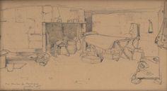 Eugène Renou, médecin à Verdun World War, Trench, Drawings, Life, Art, Art Background, Kunst, Sketches, Performing Arts