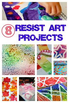 Resist Art Projects: Tuesday Tutorials - Crafts on Sea