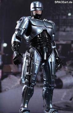 Robocop: Robocop - DieCast Deluxe Figur, Fertig-Modell, http://spaceart.de/produkte/rc001.php