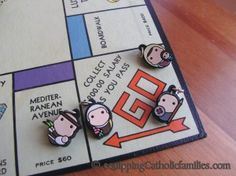 BEST converted-2-Catholic games and activities! Pin it for Catholic fun?