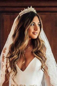 GEMNA Swarovski Wedding Tiara, Bridal Tiara