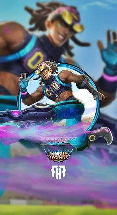 Wallpaper Phone Bruno Street Soccer by FachriFHR Bruno Mobile Legends, Street Football, Legend Images, The Legend Of Heroes, Making Money On Youtube, Mobile Legend Wallpaper, Games Images, Gaming Wallpapers, League Of Legends