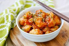 Thai Sweet Chili Chicken - amazing and best-ever chicken recipe with sticky, sweet and savory sweet chili sauce. SO good you will want to lick the plate!! | rasamalaysia.com