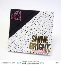 Minibook with diamond binding :)