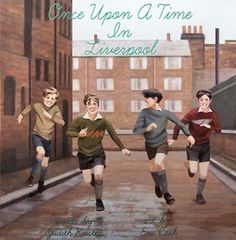 Author JUDITH KRISTEN and Famed Beatles Artist, ERIC CASH celebrate their book, Once Upon a Time in Liverpool. It tells the basic Beatles story, about having dreams, friendship, and believing in yourself. #BeatlesFans