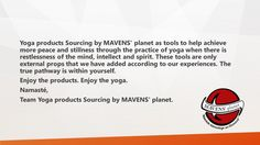 health and yoga products