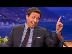 Seth Meyers Will Not Be Denied His Taxi - CONAN on TBS  THIS IS SOOOO FUNNY!
