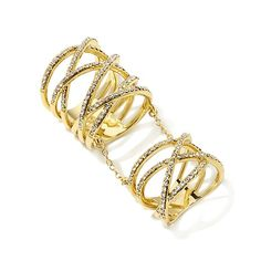 """Roberto by RFM """"Parisienne"""" Ring with Midi"""