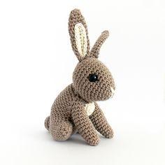 Hopscotch Bunny amigurumi crochet pattern by Irene Strange