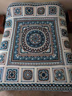 Winter Blanket - Free Crochet Patterns