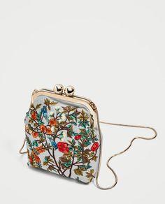 Handmade Clutch, Leather Bags Handmade, Handmade Bags, Clutch Bag, Crossbody Bag, Embroidery Bags, Zara Bags, Unique Purses, Beaded Bags
