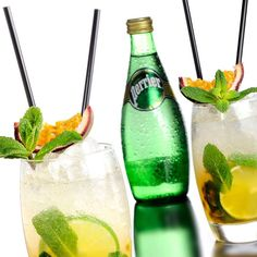 Refreshingly stylish, you'll love the PERRIER Passion Mojito.