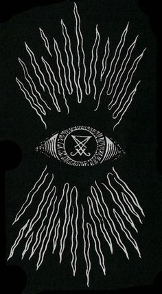 Appears to be an all-seeing eye with a talisman in the center radiating out rays of power.