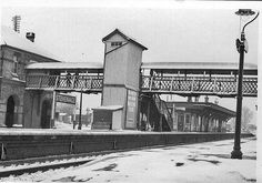 Stevenage old station 1968 by 70023venus2009, via Flickr Stevenage, Local History, Wonderful Places, Old Town, Past, Nostalgia, Aeroplanes, Building, Trains