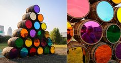 Upriver/Downriver is a site-specific installation in Louisville by Mark Reigelman II.