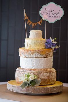 Pretty Cheese Wedding Cake From Jeremy Coras On Love Scarlett Today Photography By Sarah Gawler