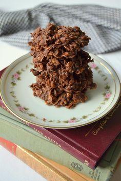 Grandma Ford's No Bake Cookies www.tattooedmartha.com