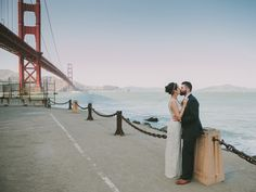San Francisco Wedding at the Golden Gate Bridge http://fondlyforever.com/