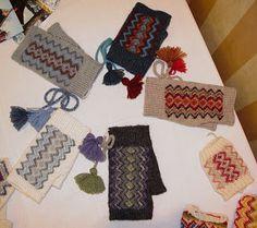 from Rovaniemi, Finland Wrist Warmers, Finland, Mittens, Knits, Stitches, Crochet Necklace, Gloves, Hands, Knitting