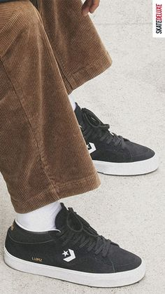 Now available as a mid version: the Louie Lopez Pro Mid by Converse CONS! Skate Shoe Brands, Skate Shoes, New Skate, Shoe Releases, Plastic Heels, Nike Sb, All Star, Black Shoes, Converse