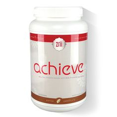 1 x Zrii NutriiVeda Achieve Chocolate 44.46 oz in bottle - New Formulation *** See this awesome image  : Weight loss Shakes and Powders