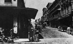 Chinatown in 1882. Looking west on Sacramento Street