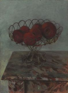 Pavel Tchelitchew (Russian, 1898-1957), Still life with apples, 1930.