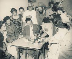 En la boda, muy cerca Camilo Cienfuegos.