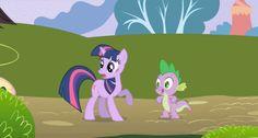 My Little Pony Twilight Sparkle And Spike Car Memes