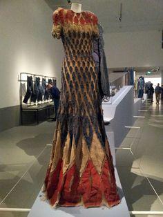 Dress made of denim