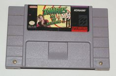 Zombies Ate My Neighbors Super Nintendo SNES Game Great Label Polished Pins