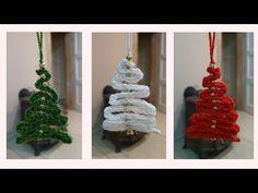 Jednoduché háčkované vianočné stromčeky na zavesenie, Simple crocheted Christmas trees for hanging - YouTube Christmas Ornaments, Holiday Decor, Handmade, Youtube, Home Decor, Creative, Hand Made, Decoration Home, Room Decor
