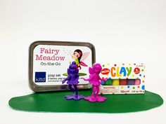 FairyMeadow On-the-Go Travel Play Set Tin - Free Shipping!