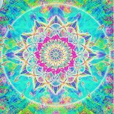 ❤⊰❁⊱ Mandala ⊰❁⊱ Beautiful colors