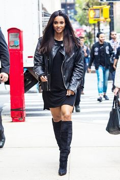Ciara All Black Outfit