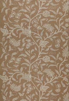 Fabric | Amagansett Linen Crewel in Linen | Schumacher