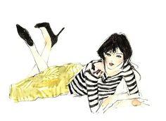 Vita Yang #illustration #fashion