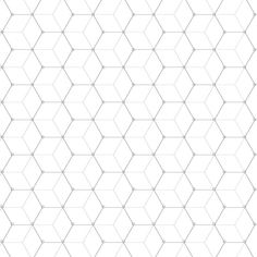 Ipad Art: Make a Technical Repeat Pattern with Any Painting App Geometry Pattern, Hexagon Pattern, Pattern Design, Cube Pattern, Graphic Patterns, Tile Patterns, Textures Patterns, Graphic Design, Motif Hexagonal
