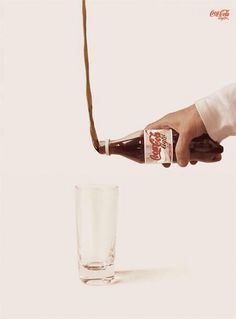 This is how you pour Coke into a glass if you want less dental decay, obesity, diabetes, and foot amputations. 7% of all Americans have diabetes who required 87,720 amputations in one year. Healthcare begins in your kitchen, not in your insurance plan.