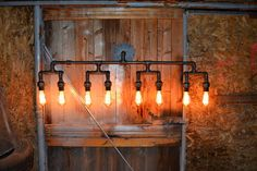 Wall pipe lampIndustrial Vanity Light Bathroom Light